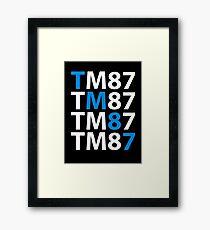 TM87 Framed Print
