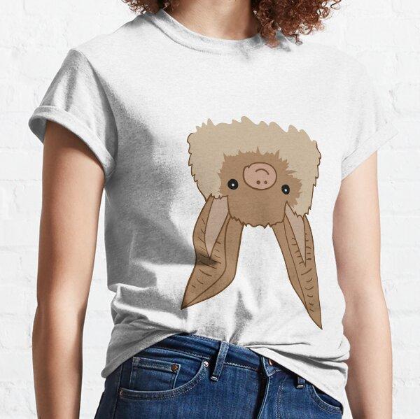 Happy Brown long-eared bat Classic T-Shirt