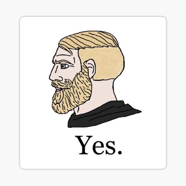 Yes t Sticker