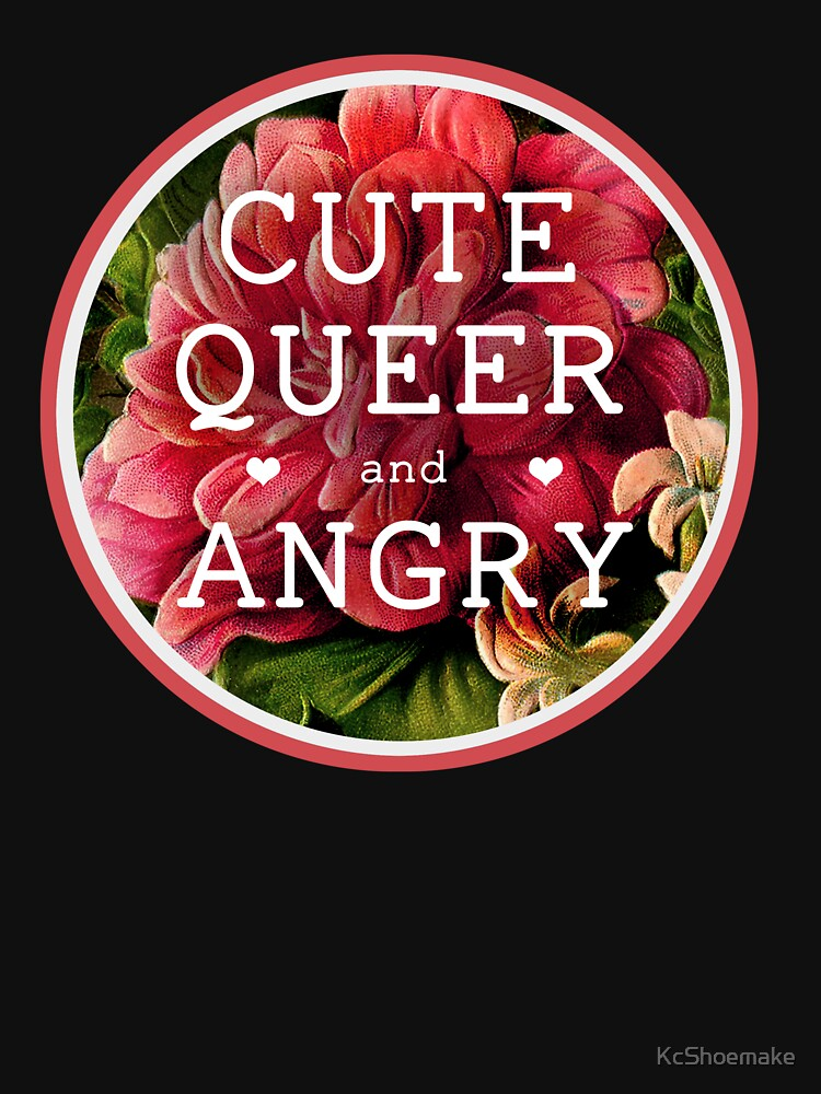 Cute, Queer and Angry | Women's Relaxed Fit T-Shirt