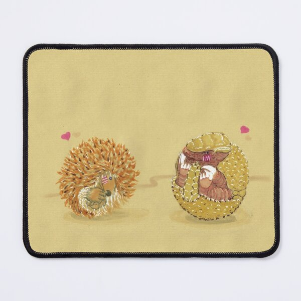 Les amoureux timides Tapis de souris