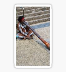 INDIGENOUS DIDGERIDOO PLAYER Sticker