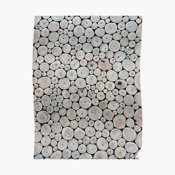 Art Land, Pebbles, Round Pieces, Mosaic Poster