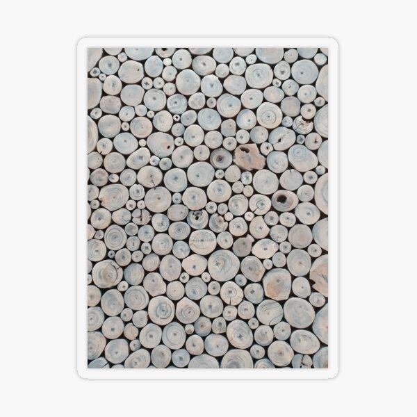 Art Land, Pebbles, Round Pieces, Mosaic Transparent Sticker