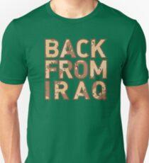 Back From Iraq - Iraq Vets T-Shirt