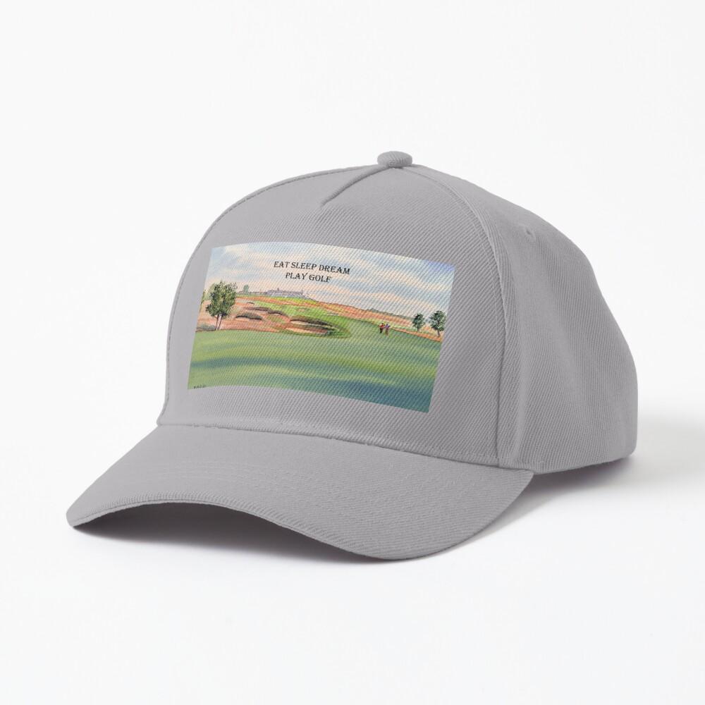 Shinnecock Hills Golf Course with Eat Sleep Dream Play Golf Cap