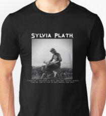 metal sylvia plath Unisex T-Shirt