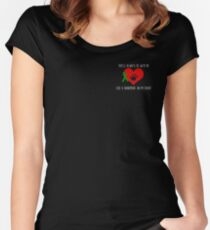 Show your support for Anencephaly Hope! Raise awareness! Women's Fitted Scoop T-Shirt