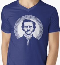 Mystery Man Mens V-Neck T-Shirt