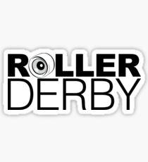 Roller Derby Wheel Sticker