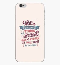 Paper Towns: Treacherous Thing iPhone Case