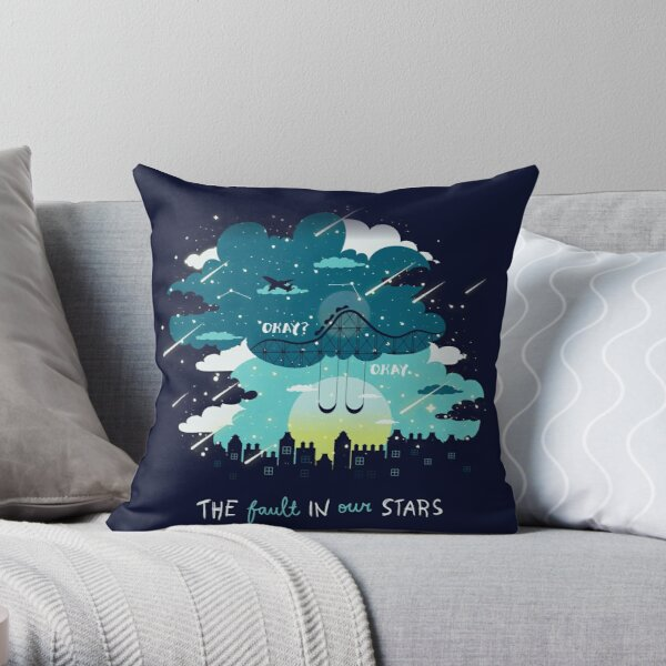 Stars and Constellations Throw Pillow