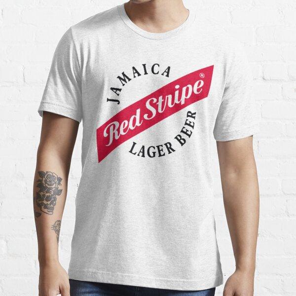 red stripe Essential T-Shirt