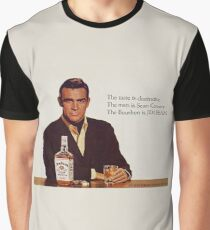 The Bourbon of Sean Connery Graphic T-Shirt