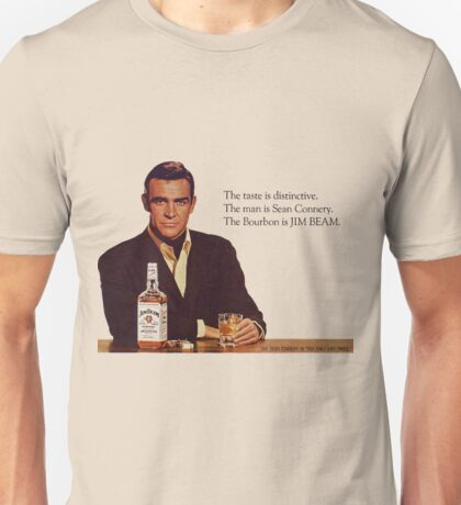 The Bourbon of Sean Connery Unisex T-Shirt