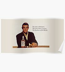Der Bourbon von Sean Connery Poster