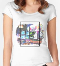 Broadway Aesthetic Women's Fitted Scoop T-Shirt