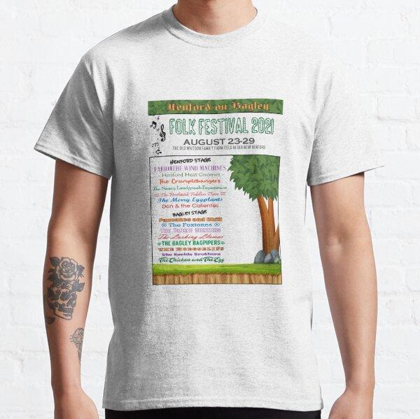 Henford-on-Bagley Folk Festival T-shirt Classic T-Shirt