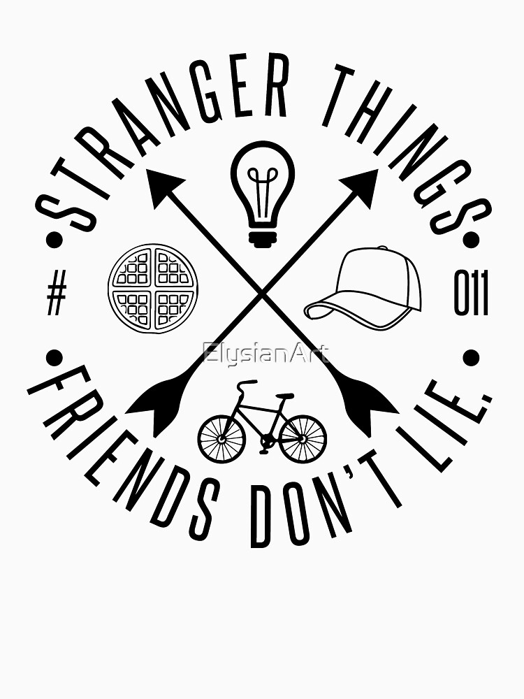 ddf2d35e Stranger Things | Unisex T-Shirt, a t-shirt of eleven, friends, mike ...