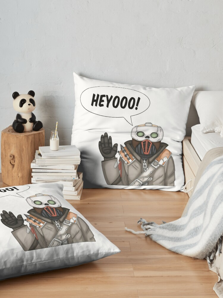Alternate view of Borderlands Steve Floor Pillow