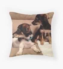 What's that?!? Throw Pillow
