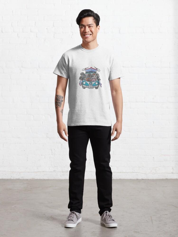Alternate view of SENC Water Test logo Classic T-Shirt