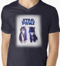 Star Wars Cats Mens V-Neck T-Shirt