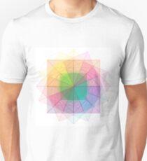 Sacred Geometry cubed orb Unisex T-Shirt
