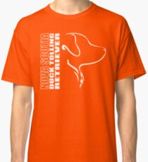 NOVA SCOTIA DUCK TOLLING RETRIEVER - outline Classic T-Shirt