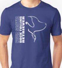 NOVA SCOTIA DUCK TOLLING RETRIEVER - outline Unisex T-Shirt