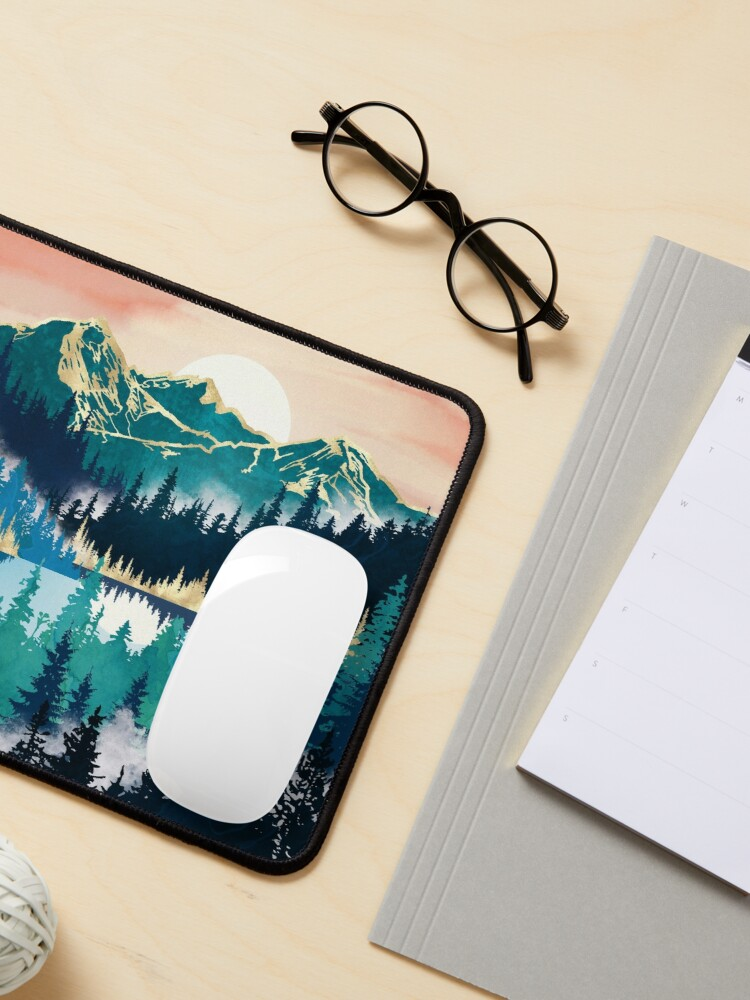 Alternate view of Lake Mist Mouse Pad