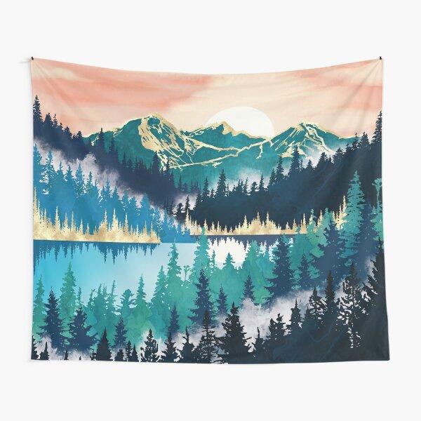 Lake Mist Tapestry