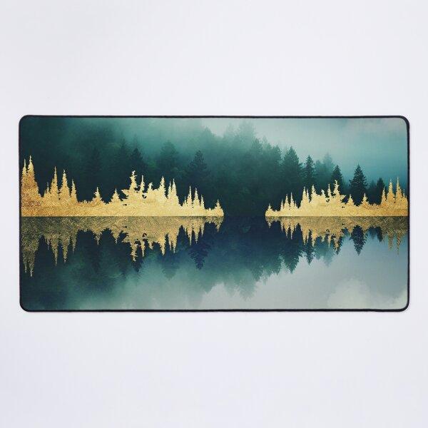 Mist Reflection Desk Mat