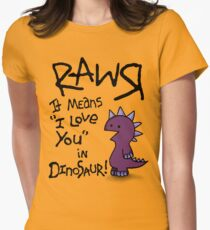 Rawr Women's Fitted T-Shirt