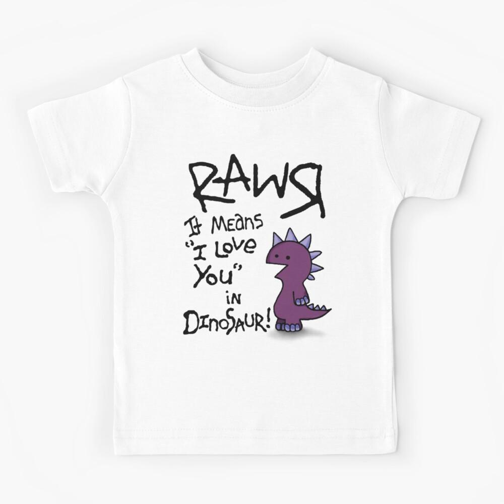 Rawr Kids T-Shirt