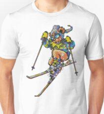 Ski Bear2 Unisex T-Shirt