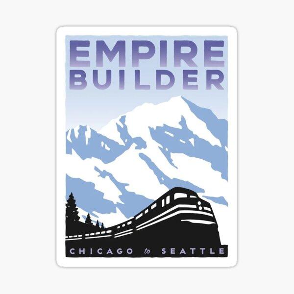 Empire Builder  Sticker