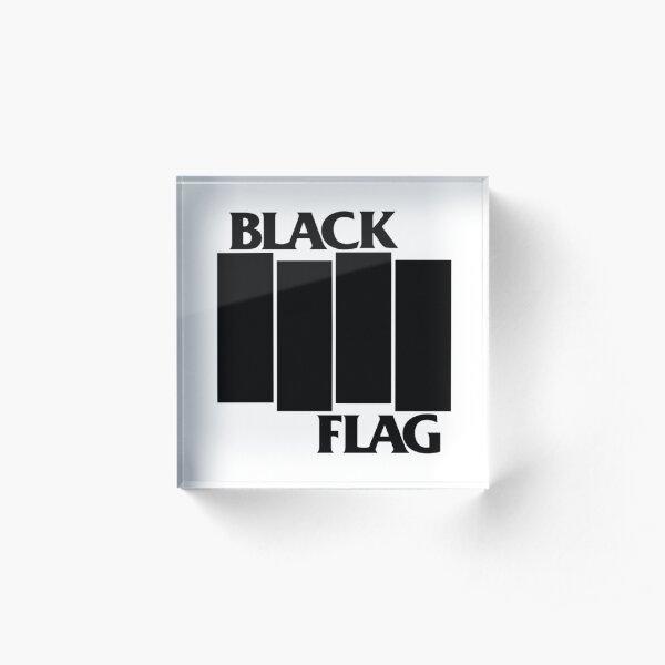 BLACK FLAG Acrylic Block
