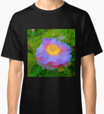 Funky Rose Violet & Pink Classic T-Shirt