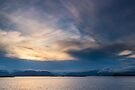Sunset at Hoffell, Southern Iceland by Cliff Williams