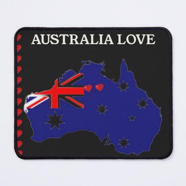 Land Down Under Australia Spotlight Mouse Pad
