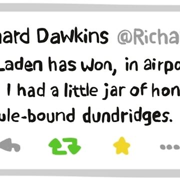 Richard Dawkins' Best Tweet Ever by illustruction