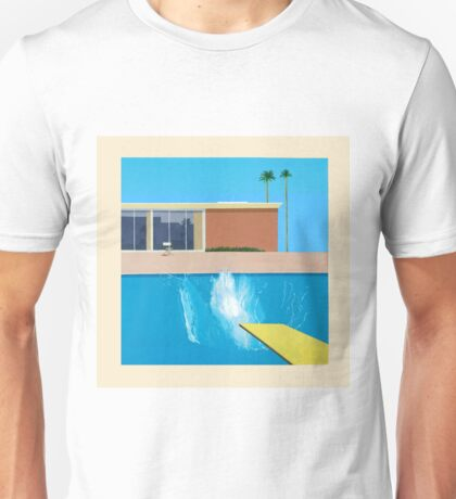 David Hockney A Bigger Splash Unisex T-Shirt