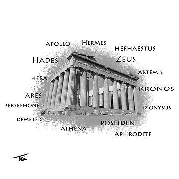 GREEK GODS by Skyrimjoe