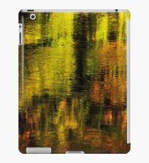 Gold on Rhone river iPad Case/Skin