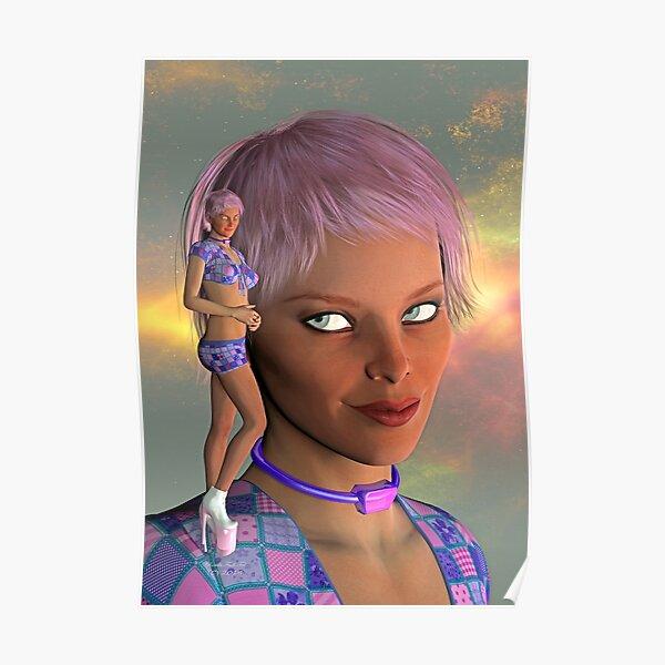 Madrah-Nebula-Portrait-2 Poster
