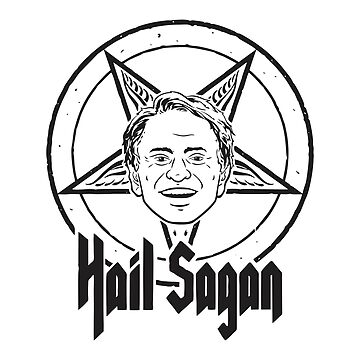 Hail Sagan Pentagram by zakarsia