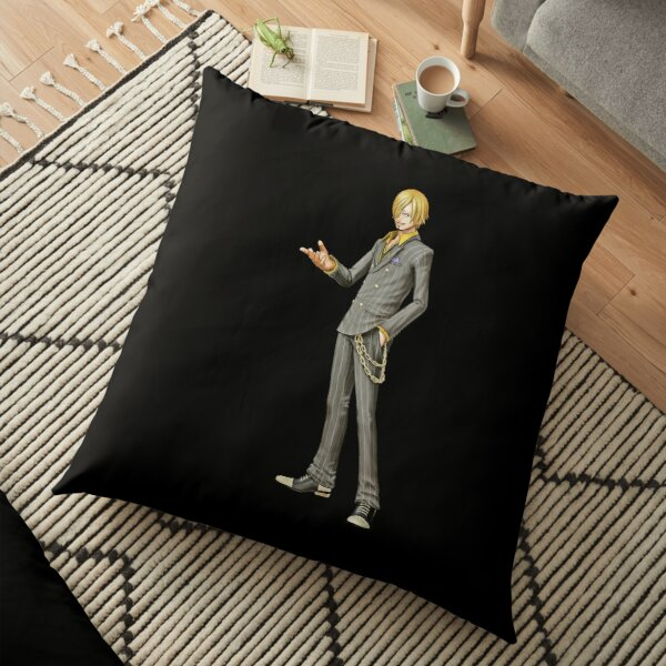 Sanji One Piece Pirate | Perfect Gift For you and friends | One Piece gift Floor Pillow