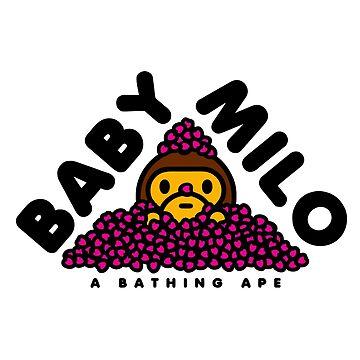 Baby Milo Sakura Leaf by zakarsia