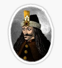 Vlad the Impaler, the real Dracula Sticker